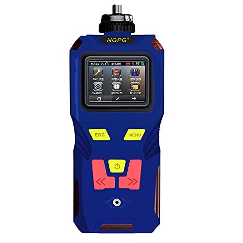 HHYGR Detector de Ozono Portátil, Bomba de Mano de Succión de Ozono, Detección de O3, Almacenamiento de Datos de Gran Capacidad, para Planta Química, Planta de Tratamiento de Aguas Residuales