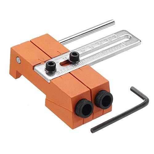 sunnymi ® 9,5 mm Punch Locator Einstellbare Bohrlochbohrmaschine für Holzbearbeitung