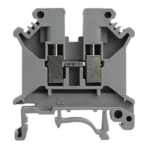 Reihenklemme 6mm2 Durchgangsklemme Grau VDE UL DGN 3350
