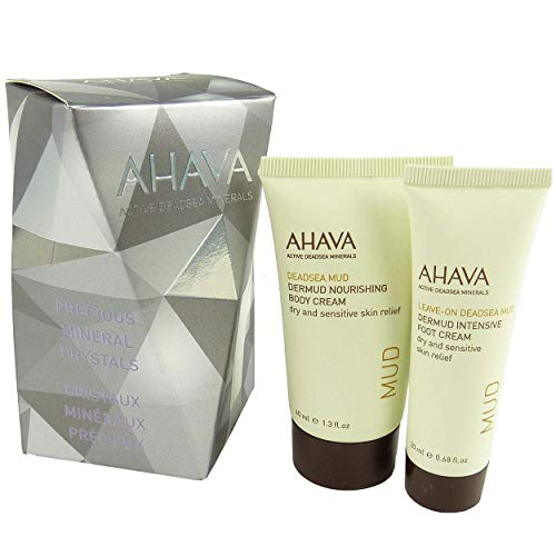 AHAVA Active Deadsea Minerals Body + Foot Cream Set Körper Creme Fuß Pflege
