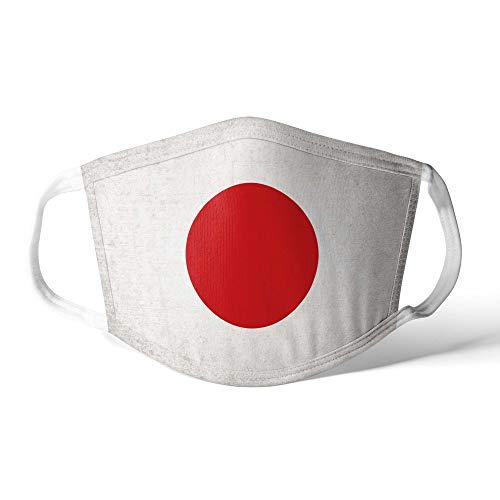 M&schutz Maske Stoffmaske Mittel Notleidende Flagge Japan/Japanisch Wiederverwendbar Waschbar Weiches Baumwollgefühl Polyester Fabrik
