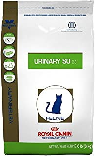 Royal Canin Feline Urinary SO 33 Dry Cat Food, 17.6 lb.