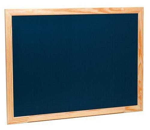 Takestop® Pizarra negra con marco de madera de 40x 30cm, se utiliza con tizas, para escuelas, bares y restaurantes