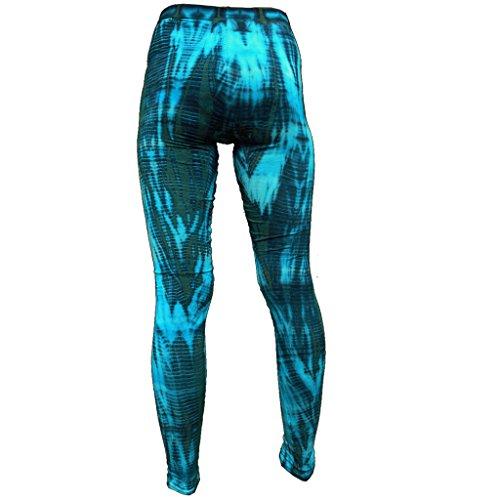 PANASIAM Leggings, Hose, weich und stretchig, CT03, Blauton
