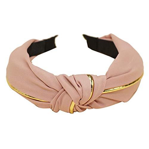 Bodhi200 0 diademas anchas con nudo turbante para el pelo banda elástica accesorios para mujeres y niñas