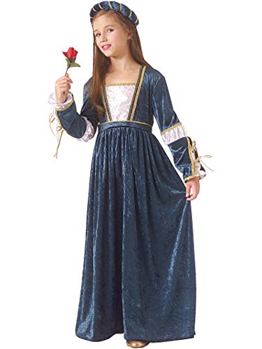 Rubie's Child Juliet Renaissance/Princess Costume, White, Medium