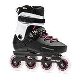 Rollerblade Twister Edge Women's Adult Fitness Inline Skate, Black and Magenta, High Performance Inline Skates, 10.5