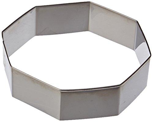 Ibili 729600 Lot 6 emporte-pièces Octogone Inox (4..9 cm)