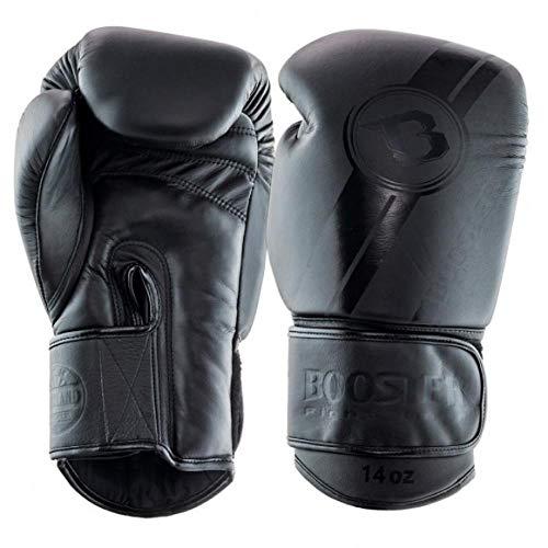 Booster V3 Darkside Boxhandschuhe für Muay Thai, Kickboxen, Sparring, Kickboxen, Handschuhe, 284 g, 340 g, 455 g, Sport & Outdoor, 396,9 g (14 oz)