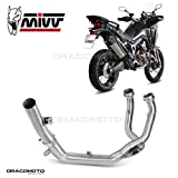 Yamaha WR 125/ X 2013/ 13/ Escape Exhaust MIVV dekalyz ator Tube No Cat