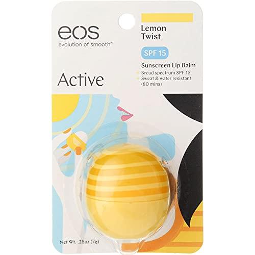 EOS Lip Balm SPF 15 Lemon Twist - Pack of 6