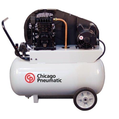 - Chicago Pneumatic Reciprocating Air Compressor - 2 HP, 20...