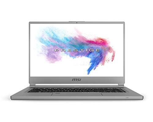 """MSI Prestige P65 9SD-852 Grigio Computer Portatile 39.6 cm (15.6"""") 1920 x 1080 Pixel Intel Core i7 di Nona Generazione 16 GB DDR4-SDRAM 512 GB SSD NVIDIA GeForce GTX 1660 Ti Max-Q Wi-Fi 5 (802.)"""