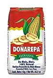 Doña Arepa, Harina Blanca De Maiz Doña AREPA y Harina Amarilla de Maiz Doña AREPA (Amarilla, maíz) - 1000 gr.