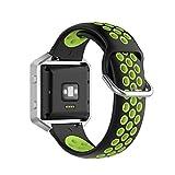 KOMI Correa de reloj de repuesto para Fitbit Versa 2 / Versa/Blaze, mujeres hombres hombres de silicona deportes correa de reloj inteligente accesorios