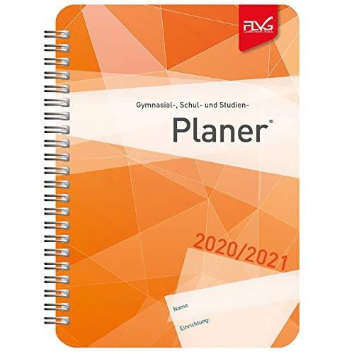 FLVG Gymnasialplaner, Schulplaner und Studienplaner 2020/2021 mit orangem Cover
