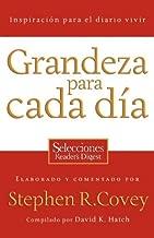 Grandeza para cada día: Inspiración para el diario vivir (Spanish Edition)