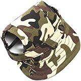 Casquette de baseball réglable pour chien, chat, camouflage.