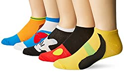 Disney Men's Classic 5 Pack No Show Socks #disneygifts #giftformen #disney