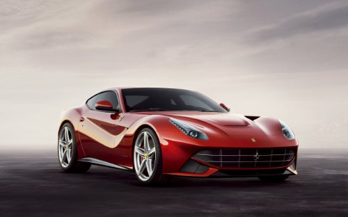 2013 Ferrari F12Berlinetta 8X10 Photo Poster Banner