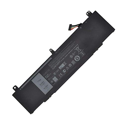 HUBEI TDW5P Reemplazo de la batería del portátil para DELL Alienware 13...