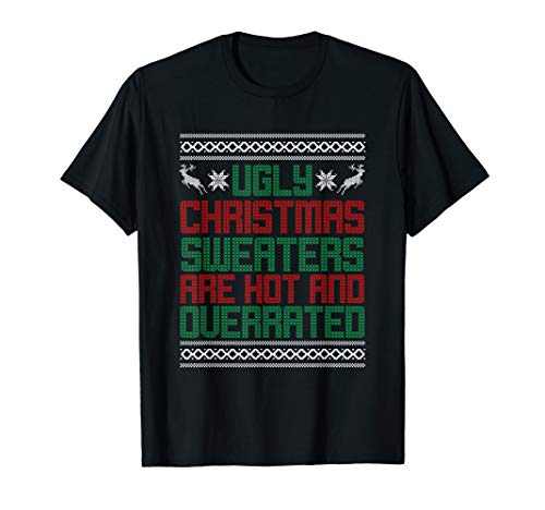 Funny Christmas Shirt for Ugly Sweater Party Men Women Kids