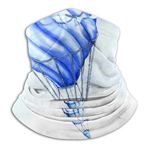 Calentador de cuello de microfibra, tubo de polaina, calentador de oídos, máscara facial, globo de aire caliente, última retención térmica