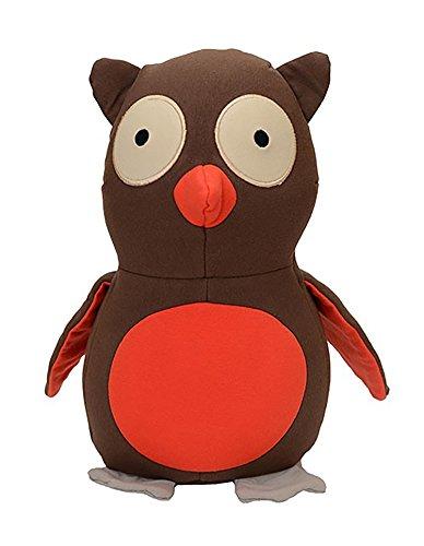 Yogibo Mates Stuffed Animals, Huggable Cute Plush Toys for Kids, A Soft Huggable Friend, Sensory Toy with Soft Mini Bean Fill, Owl