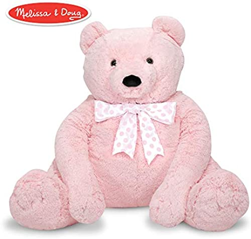 Melissa & Doug 3980 Jumbo Rosa Teddy Bear
