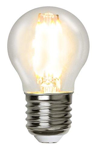 Star 351–24A +,–Bombilla LED, plástico, 4.2Watts, E27, transparente, 4.5x 7.5x 4.5cm