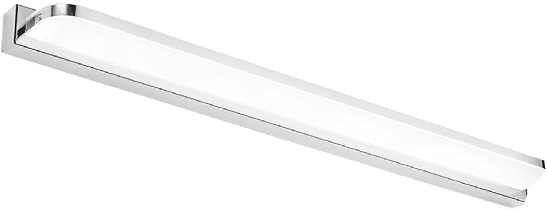 Einfache moderne Badezimmer-Dressing-Tisch-Spiegel-Licht LED-Spiegel-vordere Lichter Wasserdichter Anti-fog ( Farbe   Weies Licht-72CM16W )