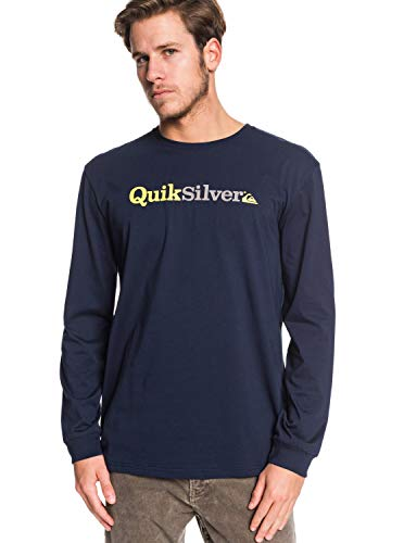 Quiksilver EQYZT05601 T-Shirt Manches Longues Homme, Navy Blazer, FR : 2XL (Taille Fabricant : XXL)