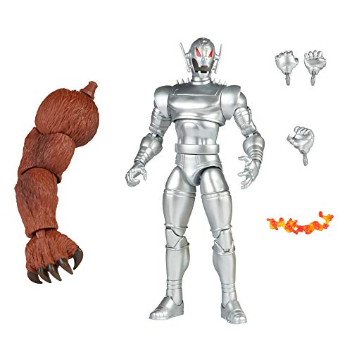 Hasbro Marvel Legends Series 6-inch Ultron Action Figure Toy, Premium Design and Articulation, Includes 5 accessories and Build-A-Figure Part