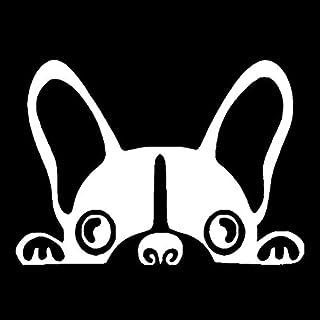 A/X Autosticker Autosticker Vinyl 15,2 * 10,8 cm Boston Terrier Hond Dieren Cartoon Stickers en Stickers Grappige 3D-stick...