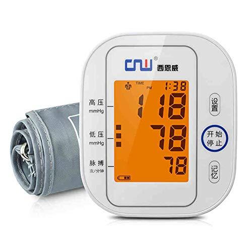 QIDI Blutdruckmessgerät Alter Mann Haushalt Armtyp Komplett Automatisch Licht Präzision