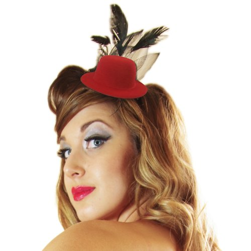 Christy`s Mini Top Hat (Red)