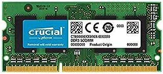 Crucial 8GB DDR3L 1866 MT/s CL13 1.35v Laptop Memory