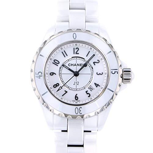 シャネル CHANEL J12 33mm H0968 ホワイト文字盤 新品 腕時計 レディース (W192334) [並行輸入品]