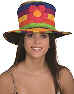 rainbow wizard hat