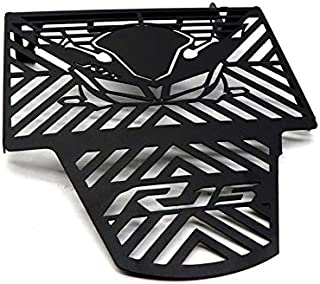 XuBa Motorcycle Radiator Grille Aluminium Alloy Water Tank Guard Protective Cover for YAMA-HA R15 V3