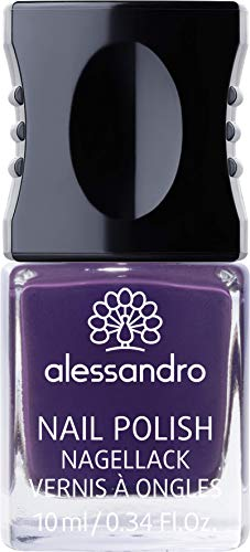 alessandro Nagellack 45 Dark Violet, 10 ml