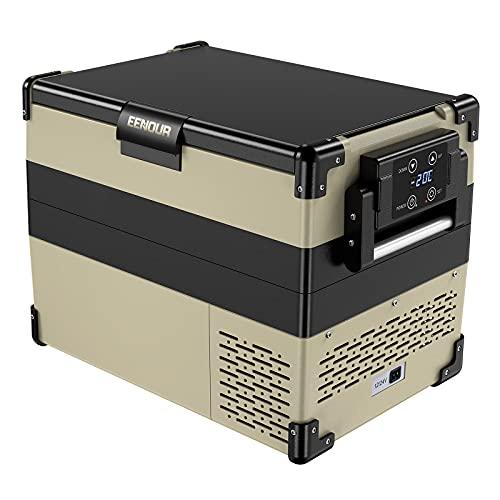 EENOUR車載冷蔵庫42Lコンプレッサー式3WAY電源対応AC100VDC12V/24V