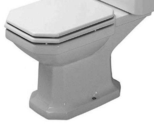 Duravit WC sur pied combiné 1930 66,5 cm sans chasse d'eau Blanc 22709000