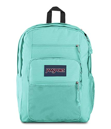 Jansport Big Campus Backpack - Lightweight 15-inch Laptop Bag, Aqua Dash
