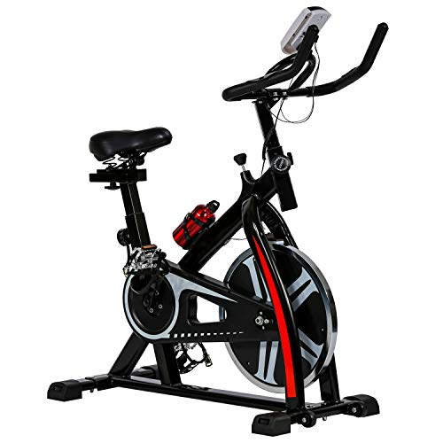 HCB Exercise Bike Indoor Cycling Bike Stationary Bike with...