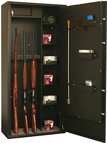 Fortify Armoire Forte Delta 12 modulable 12 Armes - 8 Armes + étagères