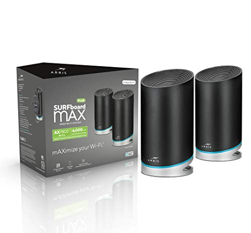 ARRIS SURFboard mAX Plus Mesh AX7800 Wi-Fi 6 AX Router System