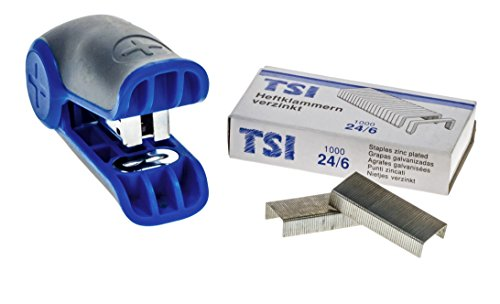 TSI 49098-7 MINI Heftgerät-Set trend plus, inklusive 1000 Heftklammern