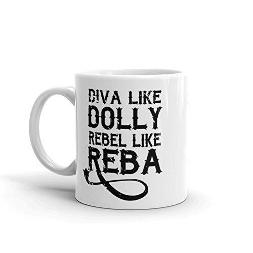 Country western coffee mug Dealing full price reduction gift dolly Classic like reba rebel diva