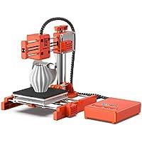 LABISTS Impresora 3D X1, Impresora Mini y portátil con filamento PLA de 10 m, Placa de construcción extraíble, impresión en línea/Fuera de línea Impresora 3D Tamaño de impresión 10 cm x 10 cm x 10 cm